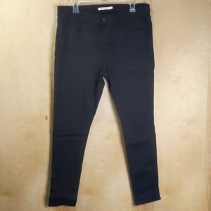 Levi's black 710 super skinny jeans sz 33 - nwot